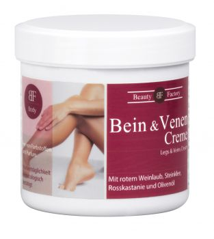 Bein und Venen Creme - Beauty Factory