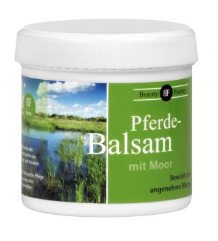 Pferdebalsam mit Moor - Beauty Factory