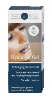Hyaluron Gel intensive Feuchtigkeit - Beauty Factory