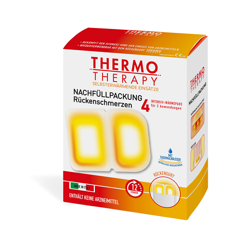 w rme pads nachf llpackung f r den r ckengurt thermotherapy beauty factory naturkosmetik. Black Bedroom Furniture Sets. Home Design Ideas